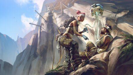 Lifeline Loading Screen from Apex Legends