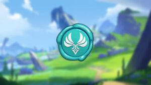 Genshin Impact, Anemo logo, Kazuha