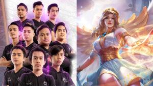 MPL MY S7 team TODAK and Mobile Legends: Bang Bang support hero Rafaela