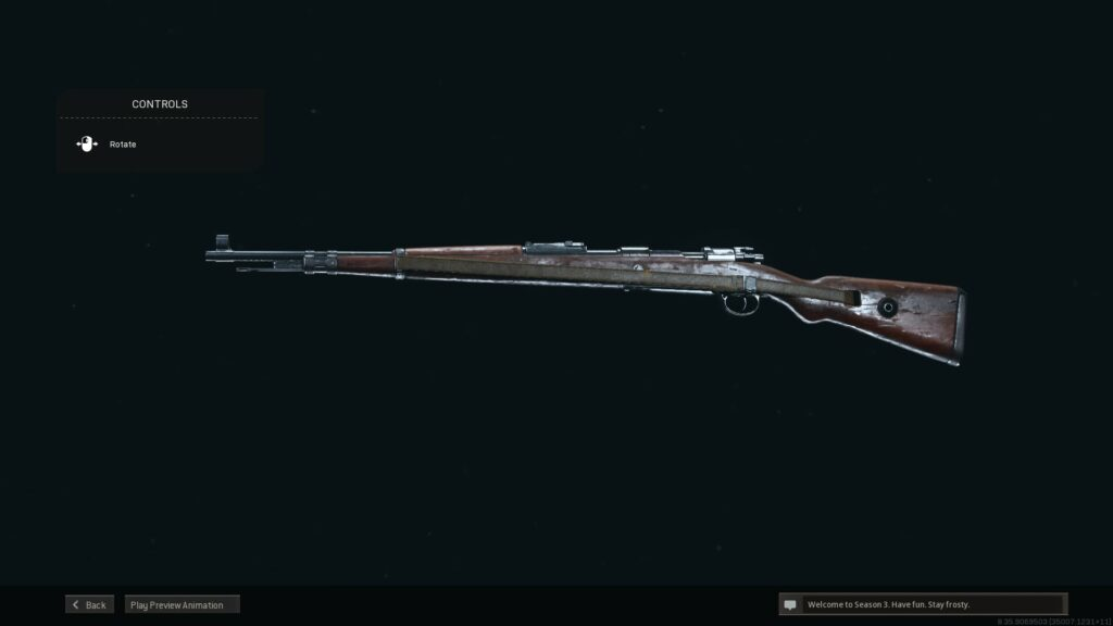 Photo of Kar98k in Call of Duty: Warzone