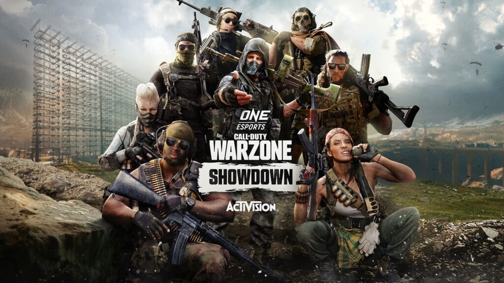 Graphic of ONE Esports Call of Duty: Warzone Showdown