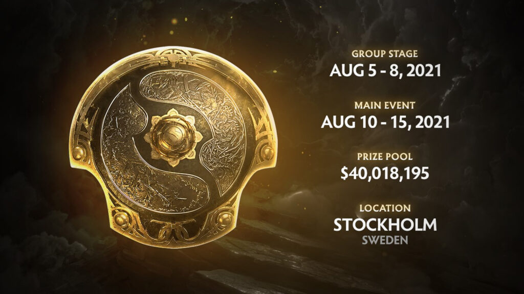 The international 10 schedule, dota 2, valve