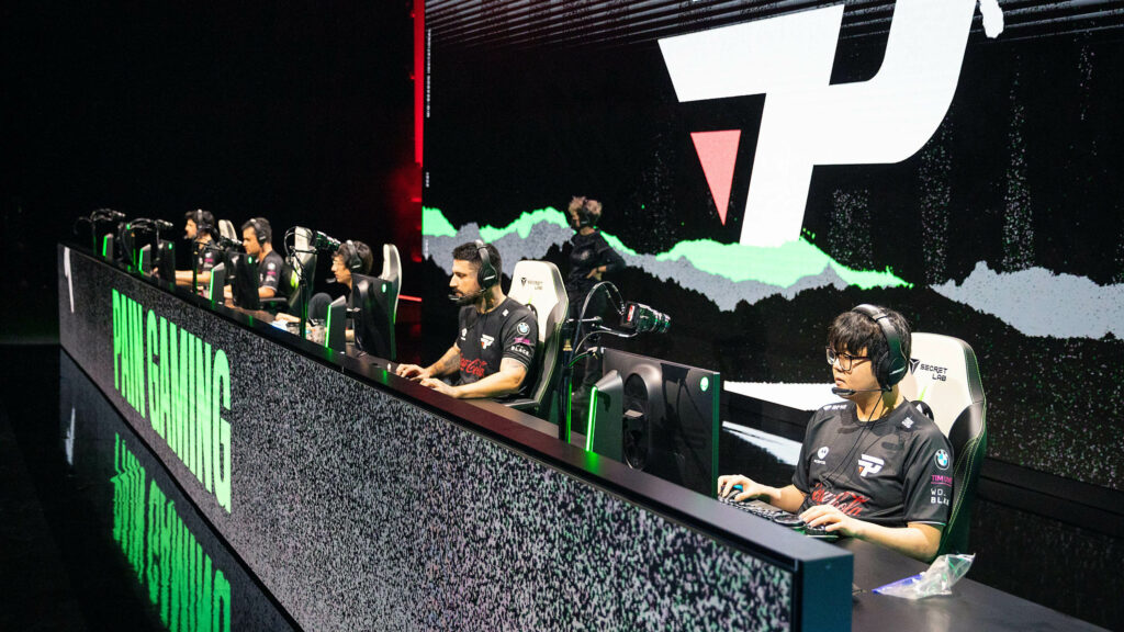 paiN Gaming on stage at MSI 2021