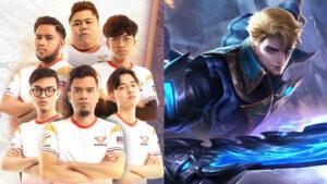 Mpl my s7 orange esports and mobile legends: bang bang fighter hero alucard