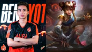Mlbb aura philippines pro player bennyqt and mlbb marksman hero wanwan