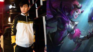 Mobile legends: bang bang mpl ph s7 onic ph player kairi with hero selena