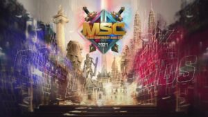 Mobile Legends: Bang Bang Southeast Asia Cup 2021 (MSC 2021) promotional poster