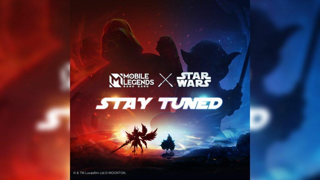 Mobile Legends: Bang Bang x Star Wars collaboration poster