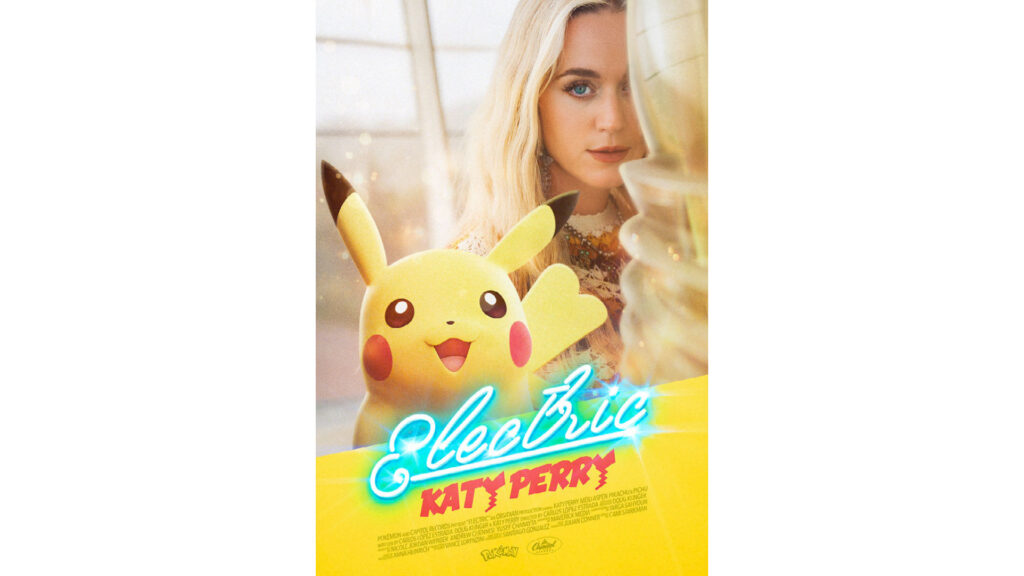 Pokemon and Katy Perry, Pokemon P25 Music, Electric song, Pikachu