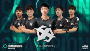 X10 Esports, VCT SEA Stage 2 Challengers Finals Champions, Valorant