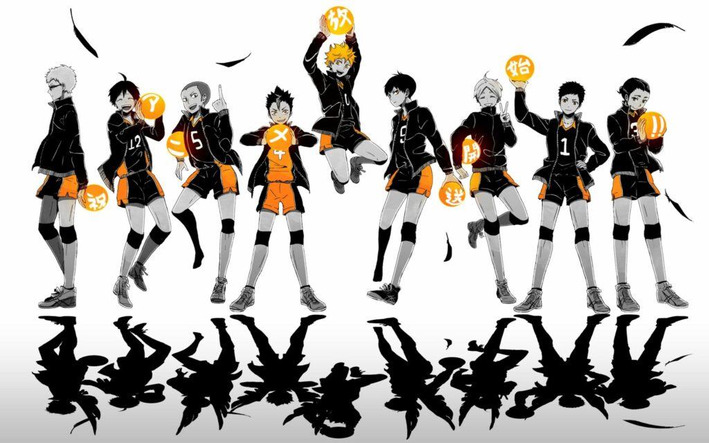 Serial Anime Haikyu!