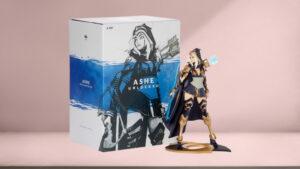 League of Legends Ashe Unlocked Statue