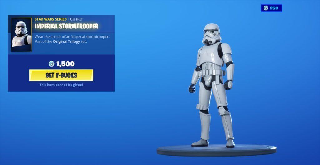 Fortnite stormtrooperskin