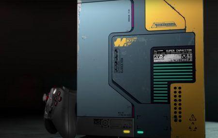 Cyberpunk 2077 Themed Console
