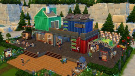 Sims4 ecolifestyle