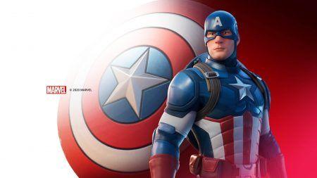 Fortnite captainamericamarveloutfit
