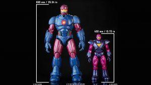 Marvel sentinel size