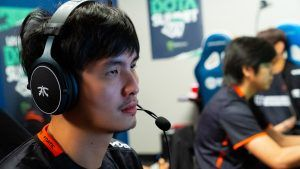 iceiceice playing at DOTA Summit 12 with Fnatic