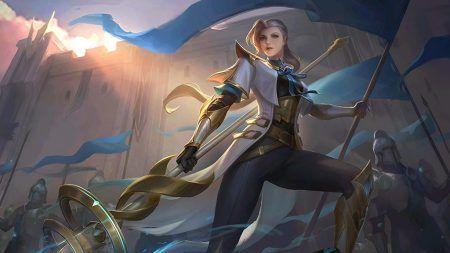 Mobile legends: bang bang hero, silvanna
