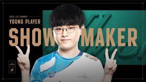 lckawards youngplayer ShowMaker