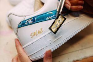LeagueOfLegends WildRift limitededition sneakers customized1