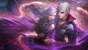 Mobile Legends: Bang Bang hero, Phantom Count Cecilion and Phantom Countess Carmilla